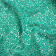 Broderie macrame verde marin