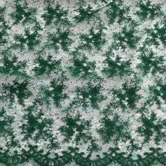Broderie verde-crud cu paiete