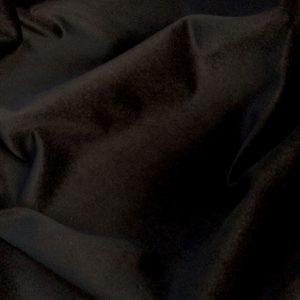 Catifea de bumbac neagra