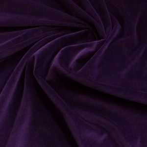 Catifea de bumbac ultraviolet inchis