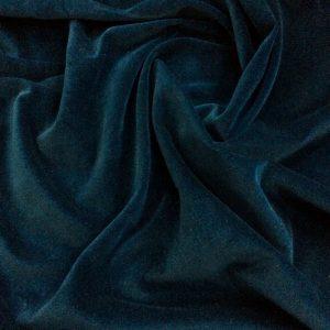 Catifea de bumbac albastru-marin inchis