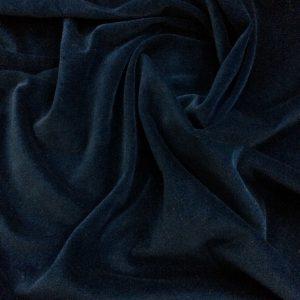 Catifea de bumbac albastru-inchis