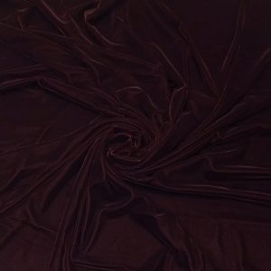 Catifea de matase maro-ciocolatiu