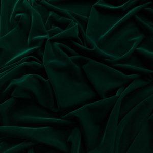 Catifea de matase verde inchis