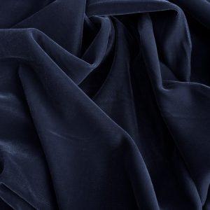 Catifea de matase gri-bleu