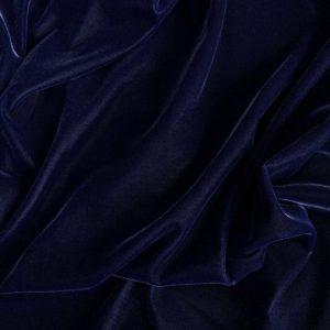 Catifea de matase albastru inchis
