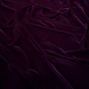 Catifea de matase burgundy