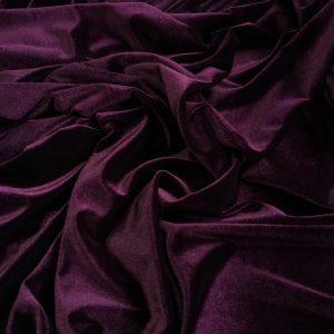 Catifea elastica burgundy inchis