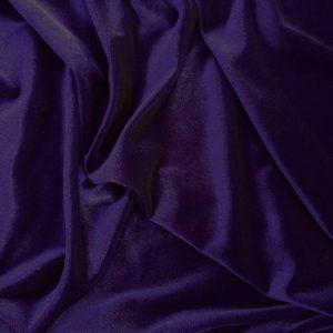 Catifea elastica ultraviolet-inchis