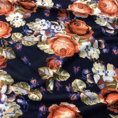 Lycra imprimeu floral