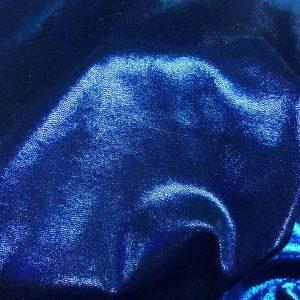 Lycra albastra cu aspect metalizat