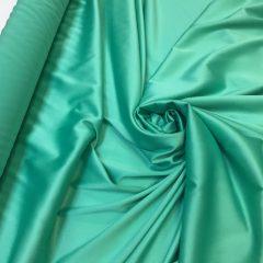 Satin gros elastic verde-aqua