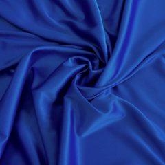 Satin gros elastic albastru