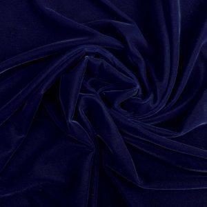 Catifea de matase albastru-inchis