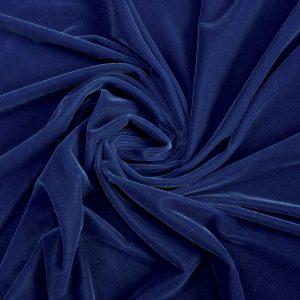 Catifea de matase albastru prafuit
