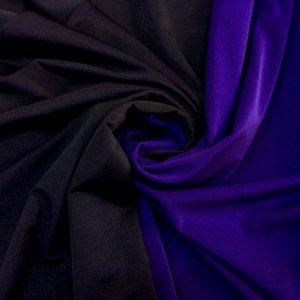 Lycra subtire 2 fete ultraviolet-negru