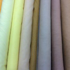 Tulle elastic nuante ivoire-nude-galben