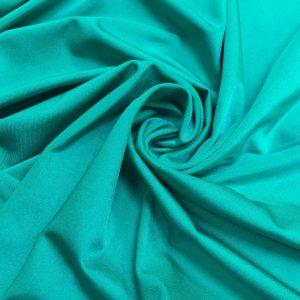 Lycra verde-turquoise