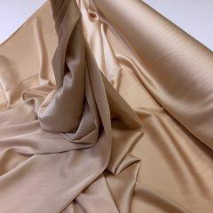 Imitatie satin de matase nude-bronze