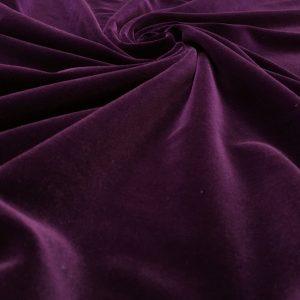 Catifea densa de matase burgundy