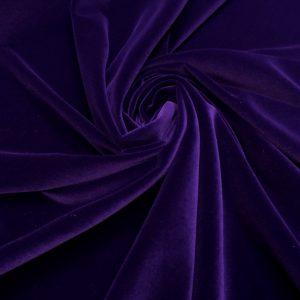 Catifea densa de matase ultraviolet