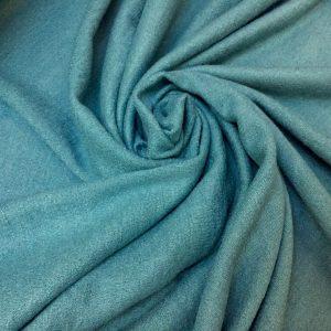 Stofa boucle bleu-turquoise