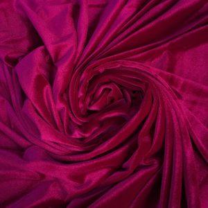 Catifea elastica bordeaux-fuchsia