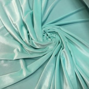 Catifea elastica verde-aqua