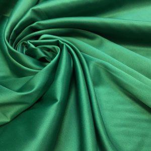 Satin gros elastic verde prafuit
