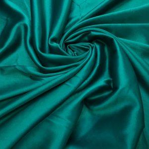 Satin gros elastic verde-turquoise inchis
