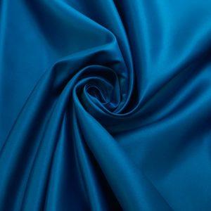 Tafta Duchesse albastru-turquoise