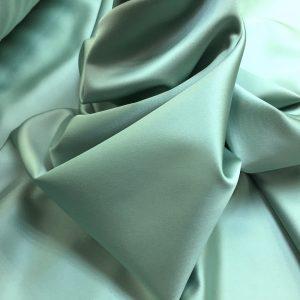 Tafta elastica verde-gri prafuit