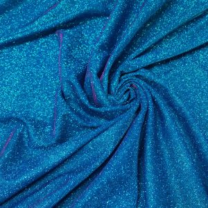 Lurex turquoise cu slipici