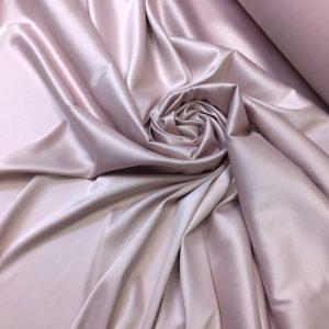 Tafta elastica Linda gri-liliac pastel