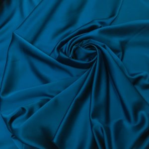 Tafta elastica Scarlet turquoise marin
