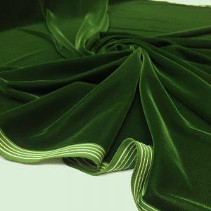 Catifea de matase verde-lime