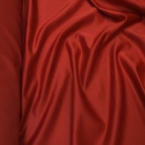 Tafta Duchesse rosu-terracotta