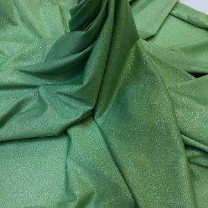 Lycra verde-pastel cu sclipici