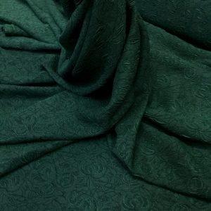 Jacquard verde-inchis