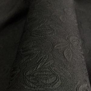 Jacquard negru