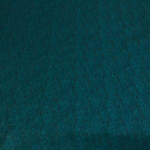 Jacquard verde-marin