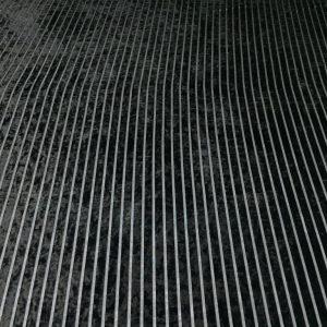 Catifea elastica neagra cu dungi