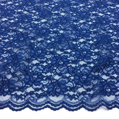 Dantela albastru inchis