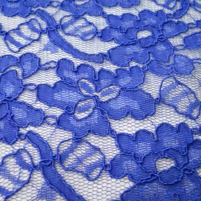 Dantela albastru-intens