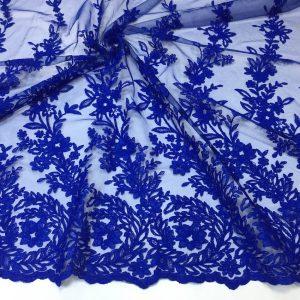 Broderie albastru-intens