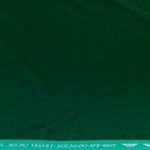 Catifea fina verde
