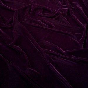 Catifea fina burgundy