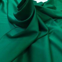 Satin gros elastic verde smarald