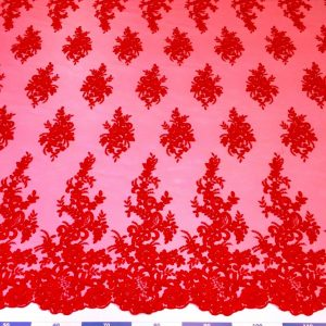 Broderie rosu-coral