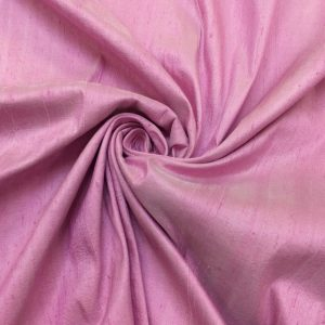 Shantung de matase naturala roz